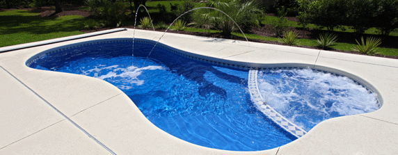 San Juan Pools - Able Installation fiberglass swimming pools