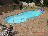 Oasis Fiberglass Pool in Pickens, WV